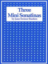 Three Mini Sonatinas