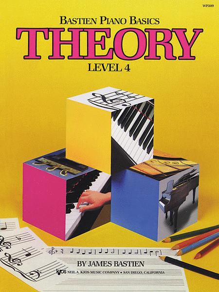 Bastien Piano Basics, Level 4, Theory