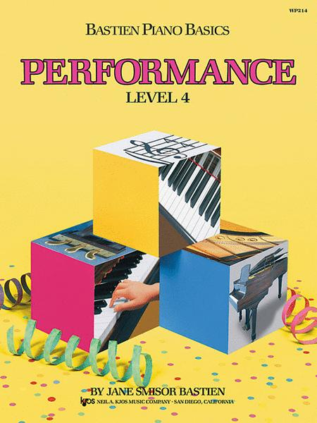 Bastien Piano Basics WP214 Performance Level 4