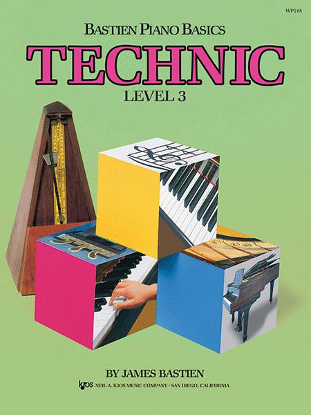 Bastien Piano Basics, Level 3, Technic