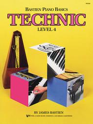 Bastien Piano Basics, Level 4, Technic
