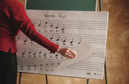 Oversized Music Flip Chart Book