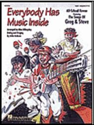 Everybody Has Music Inside - Featuring Songs of Greg & Steve - ShowTrax CD (CD only)