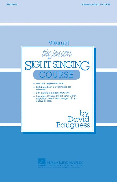 The Jenson Sight Singing Course (Vol. I)