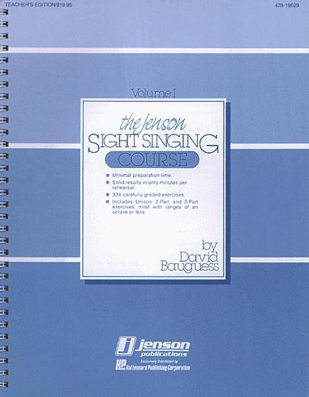 The Jenson Sight Singing Course (Vol. I)