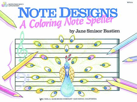 Note Designs: A Coloring Note Speller
