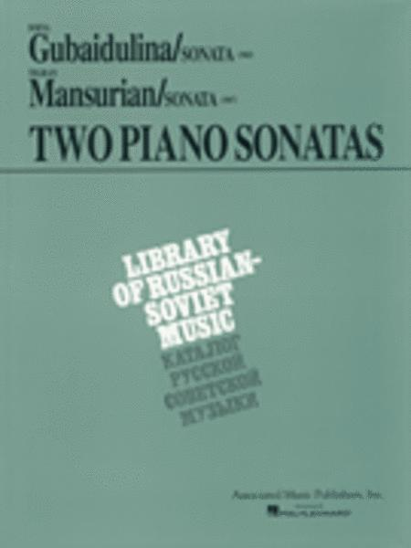 Two Piano Sonatas by Young Soviet Composers