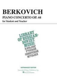 Piano Concerto, Op. 44 (for student & teacher)