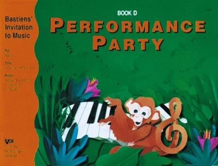 Performance Party, Book D
