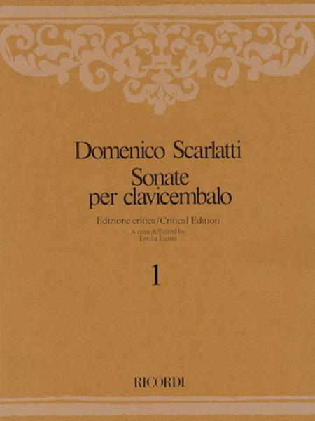 Sonate per Clavicembalo Volume 1 Critical Edition