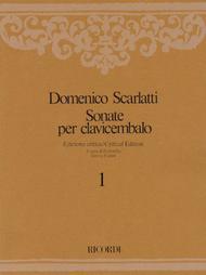 Sonate per Clavicembalo Volume 1 Critical Edition