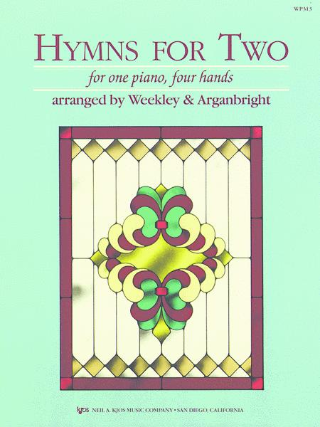 Hymns for Two 1 Piano, 4 Hands Intermediate Piano Duet