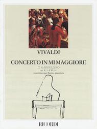Concerto in re maggiore 'Il Gardellino' Rv 428