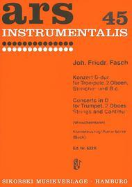 Trumpet Concerto In D - Trumpet/Piano