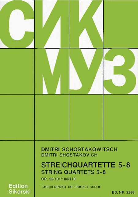 String Quartets, Nos. 5-8 (Op. 92, 101, 108, 110)