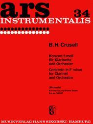 Clarinet Concerto In F Minor, Op. 5 - Clarinet/Piano