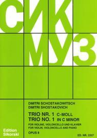 Trio No. 1, Op. 8