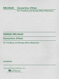 Concertino d'Hiver - Trombone/Piano
