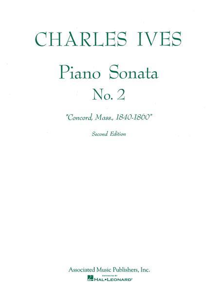 Sonata No. 2 (2nd Ed.) Concord, Mass 1840-60