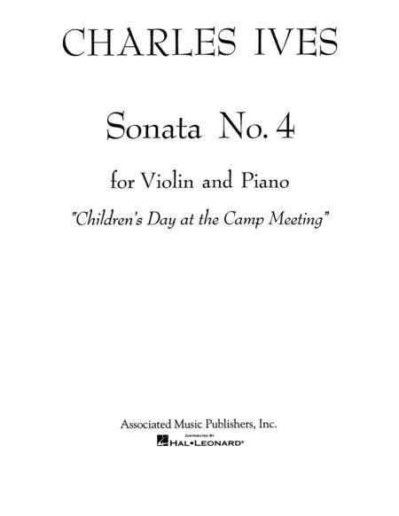 Sonata No. 4: Childrens Day at the Camp Meeting