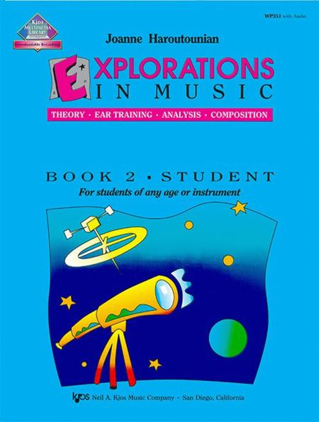 Explorations In Music, Book 2 (Book & CD)