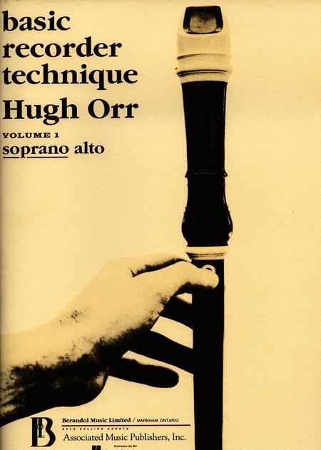 Basic Recorder Technique - Volume 1
