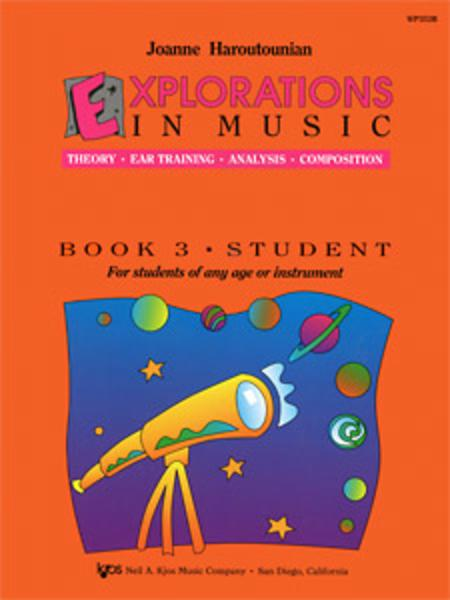 Explorations In Music, Book 3 (Book & CD)