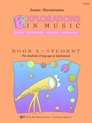 Explorations In Music, Book 3