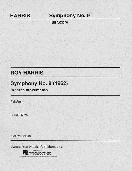 Symphony No. 9 (1962)