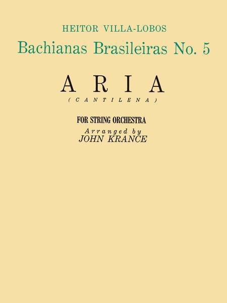 Aria (from Bachianas Brasileiras, No. 5)