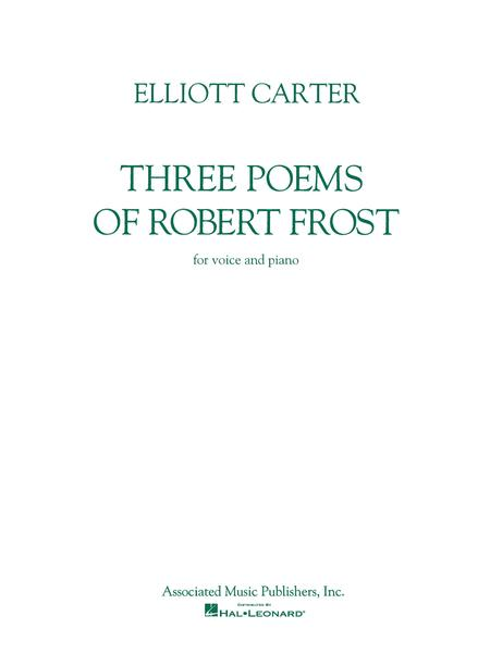 Three Poems of Robert Frost