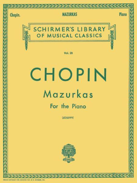 Mazurkas - Piano Solo