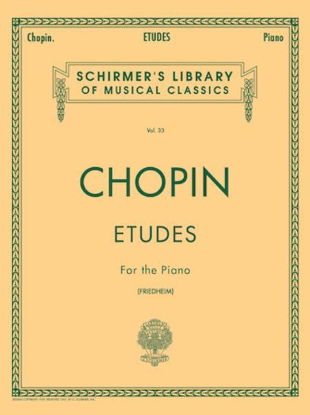 Etudes - Opus 10, 25 & 3 Etudes