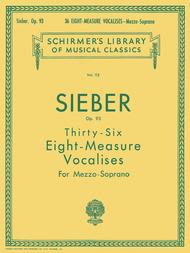 36 Eight-Measure Vocalises, Op. 93 - Mezzo-Soprano
