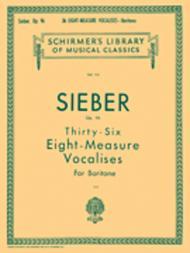 36 Eight-Measure Vocalises, Op. 96