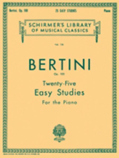25 Easy Studies, Op. 100
