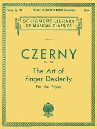 Art Of Finger Dexterity, Op. 740 - Complete