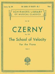 School of Velocity, Op. 299 - Book 1