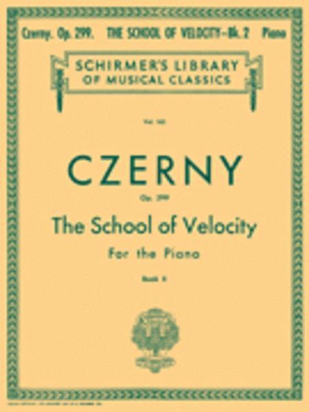 School of Velocity, Op. 299 - Book 2