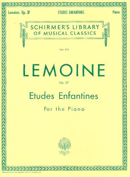 Etudes Enfantines, Op. 37