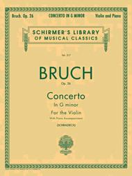 Concerto In G Minor, Op. 26