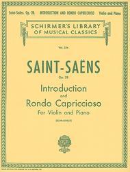 Introduction And Rondo Capriccioso, Op. 28 - Piano / Violin