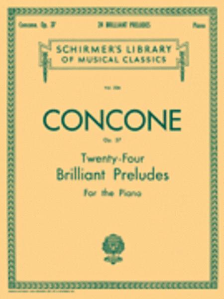 24 Brilliant Preludes, Op. 37