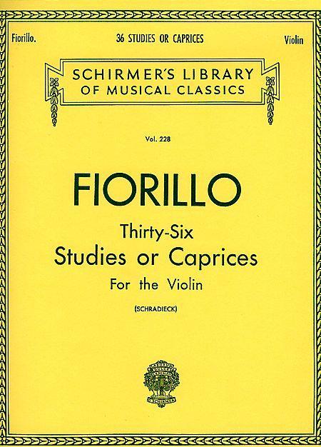 36 Studies or Caprices