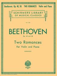 2 Romanze, Op. 40 and 50
