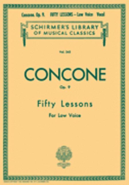 50 Lessons, Op. 9
