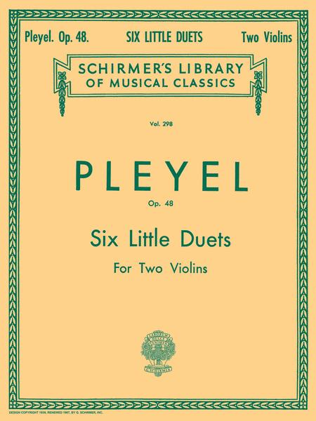 Six Little Duets, Op. 48