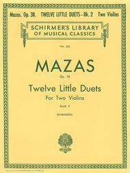 12 Little Duets, Op. 38 - Book 2