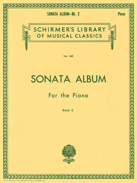 Sonata Album for the Piano - Book 2