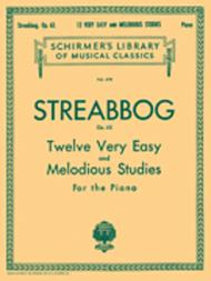 12 Very Easy and Melodious Studies, Op. 63 (Grade 1)